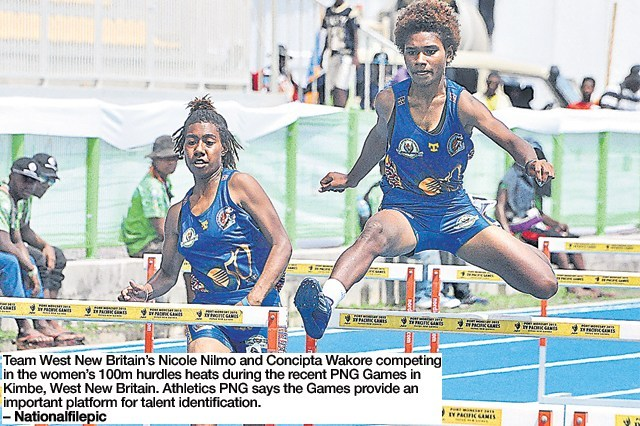PNG Games important for development of athletics.