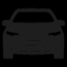 Car vehicle square icon.