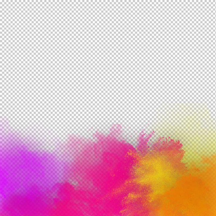 Holi color PNG.