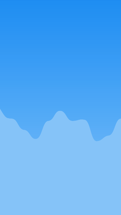 Background with chart and smooth bezier lines from float array.