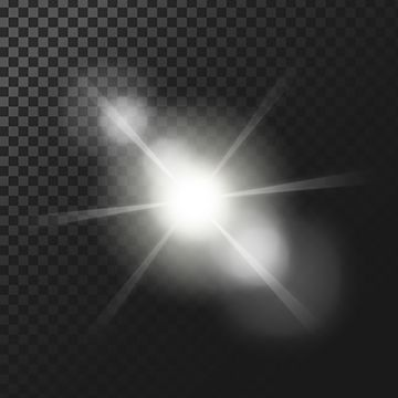 Glow Light Effect PNG Images.
