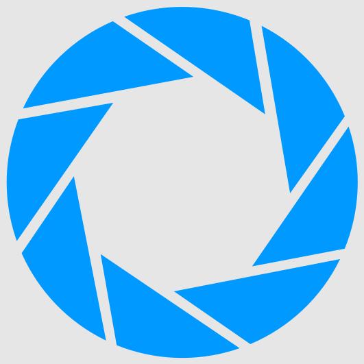 File:Aperture Science logo (light grey background).png.