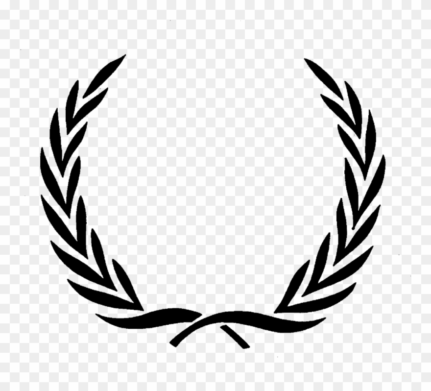 Image For Fred Perry Logo Vector Background.