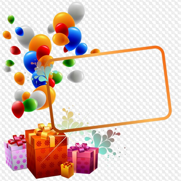 Birthday png, psd, backgrounds › PSD, 4 PNG, Birthday.