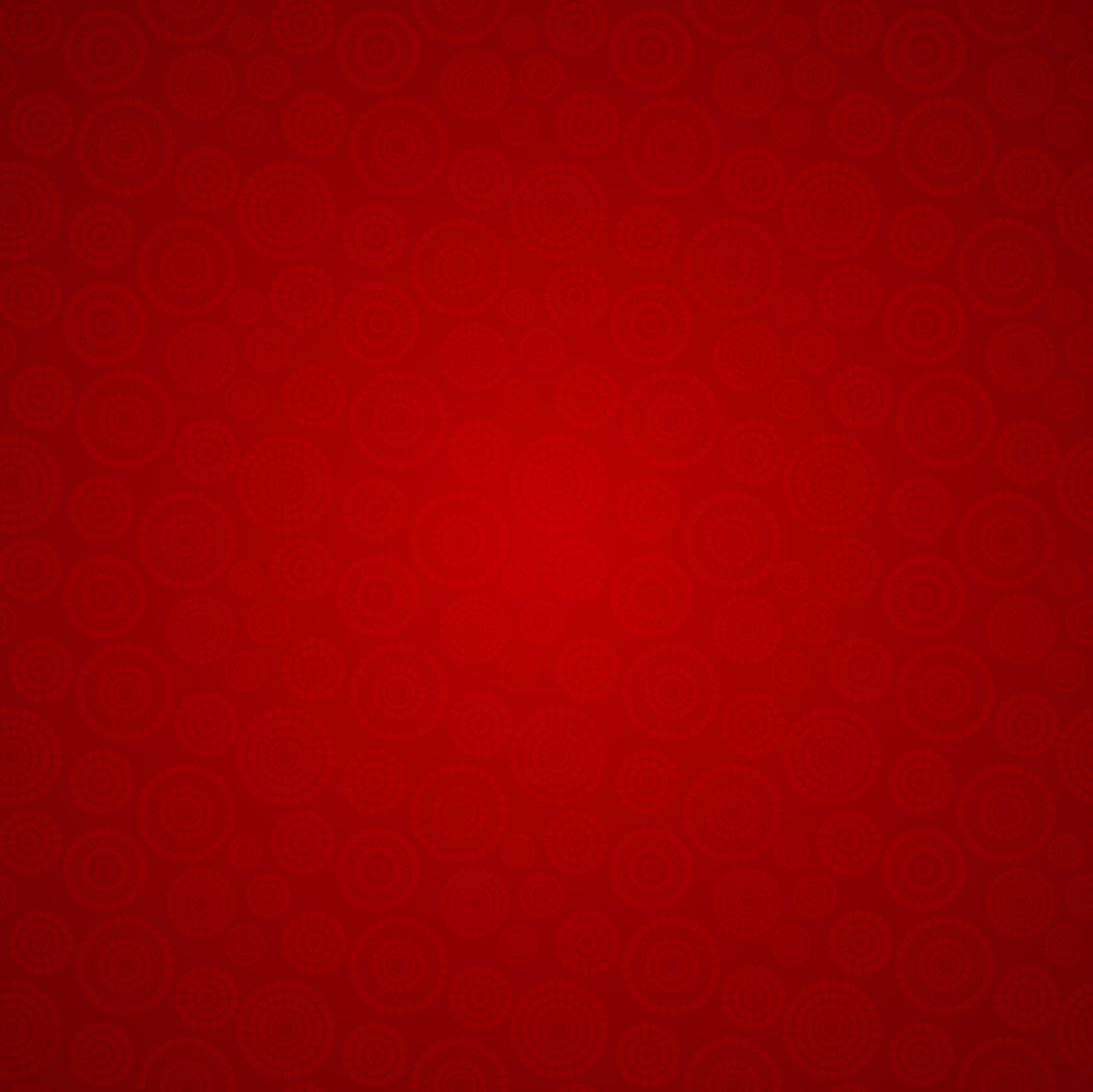 Ornamental Red Background.