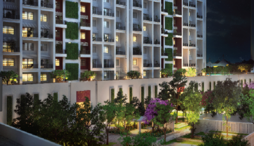 1 BHK Flat/Apartment for Sale in Baner, Pune.