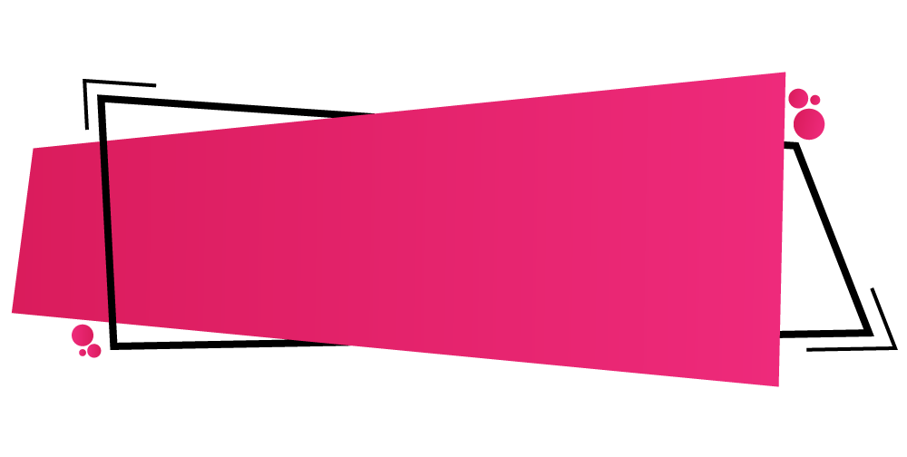 Pink banner png.