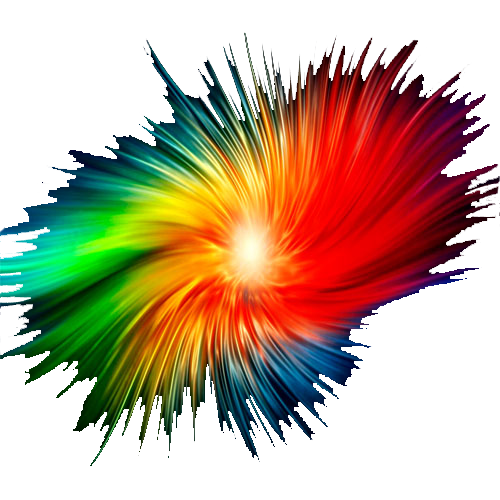 Colour Explosion banner background.