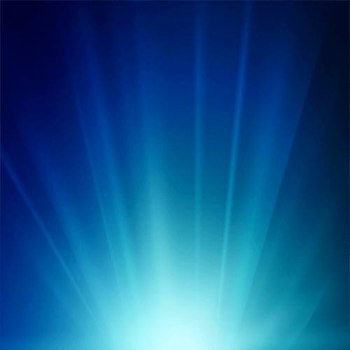 Blue Light Banner Background.