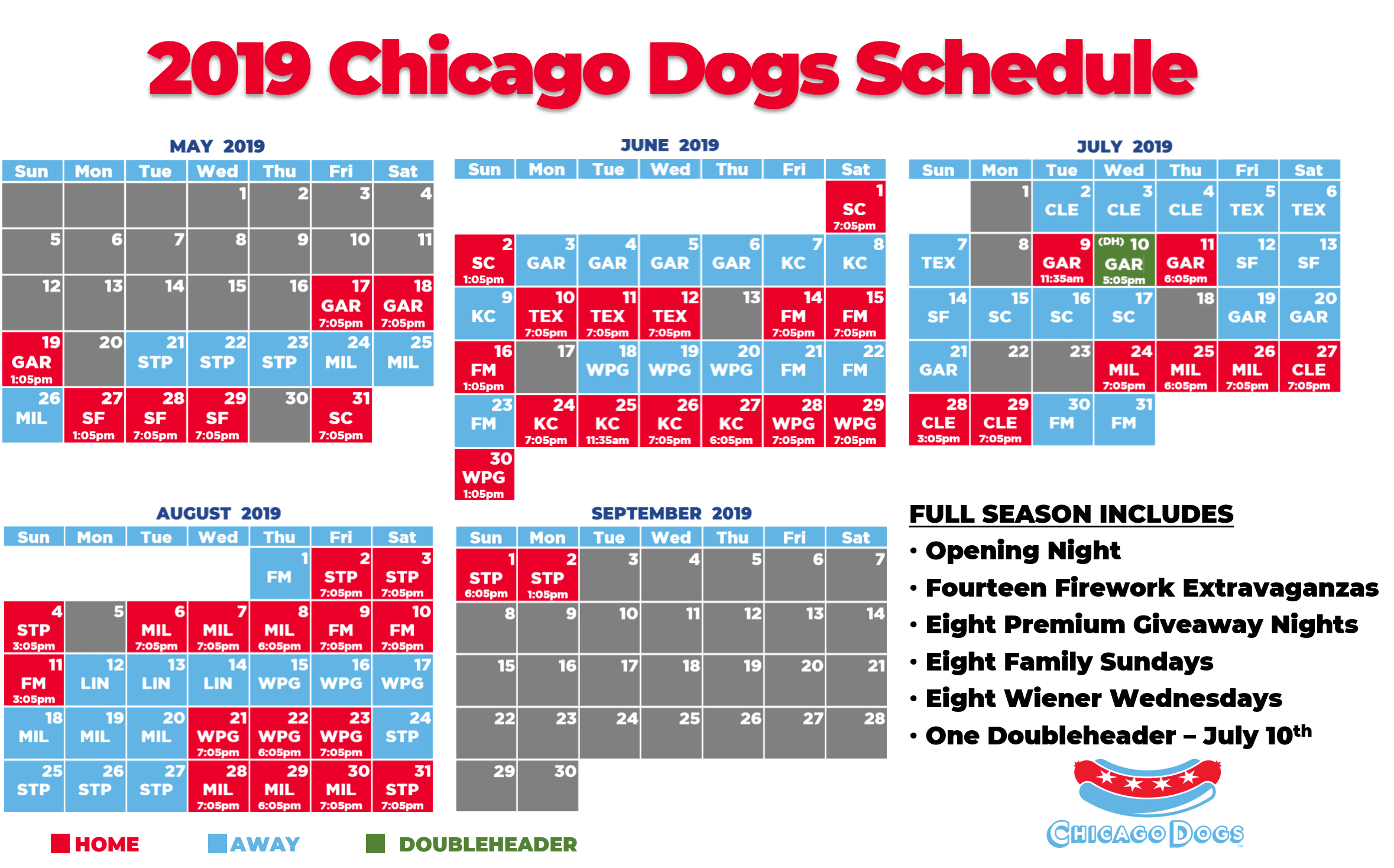 The Chicago Dogs.