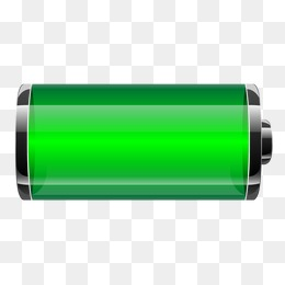 Vector Transparent Battery, Transparent #30124.