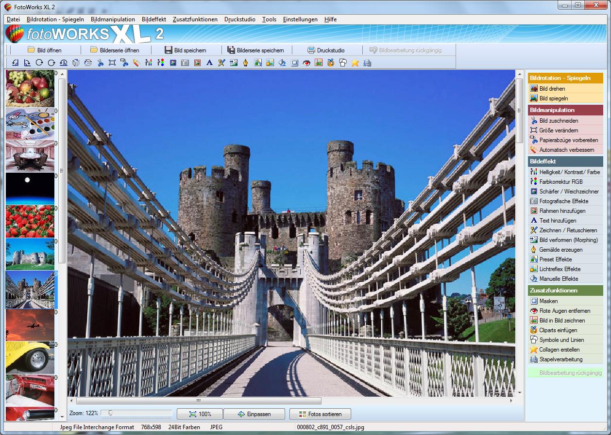 Bildbearbeitungsprogramm für Windows 7, 8, 10 kostenlos.