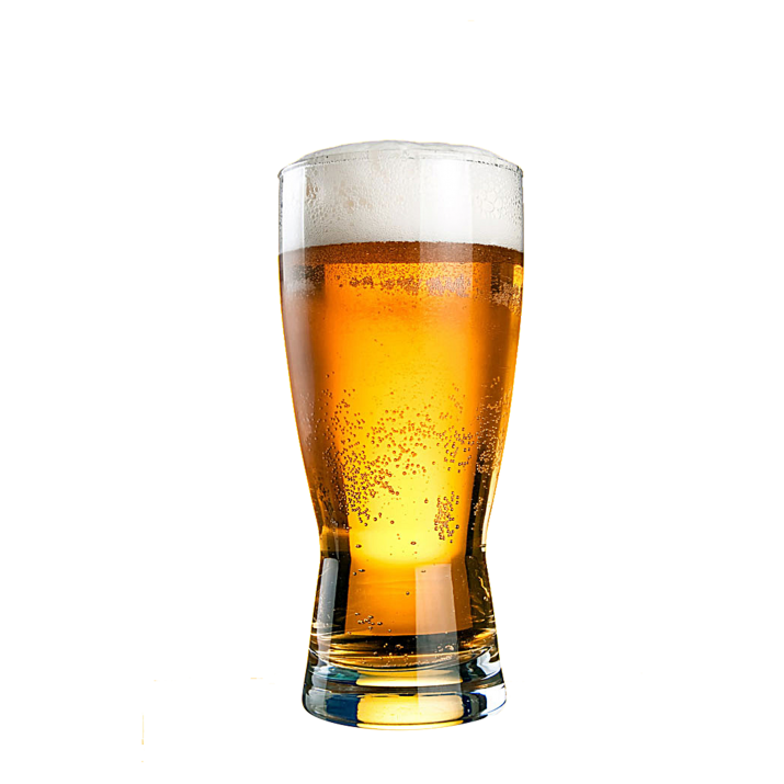 Transparent Background Beer Glass PNG Image Free Download.