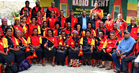 Kaulga\'s Travel Diary: PNG Bible Church Invited For Church.