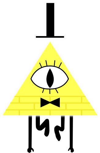 High res PNG of Bill Cypher! : gravityfalls.