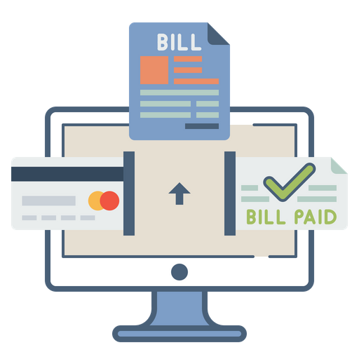 Online, Bill, Payment, Master, Card, Electronic, Invoice.