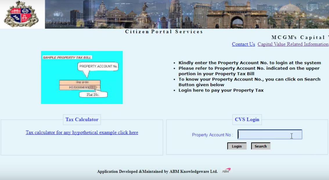 Step By Step Guide To Pay Property Tax In Mumbai.