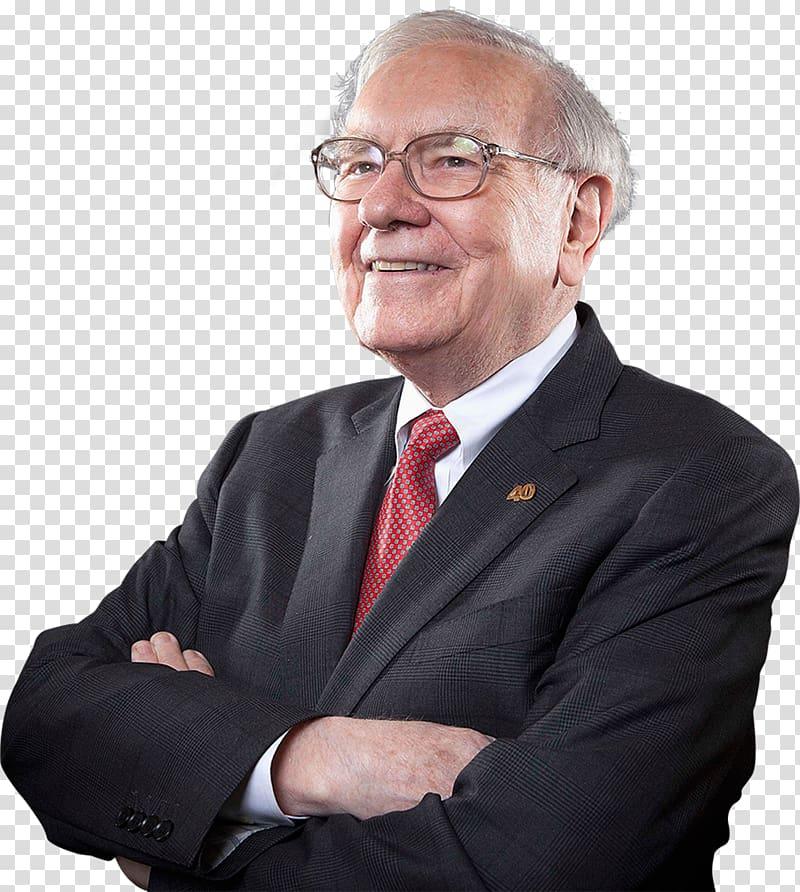 Black suit jacket, Warren Buffett Investor Berkshire.
