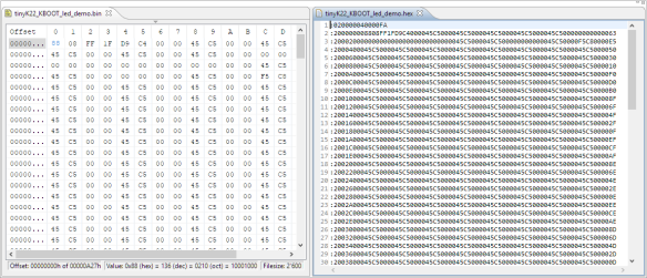 Converting Binary Files to Intel Hex Format with the SRecord.