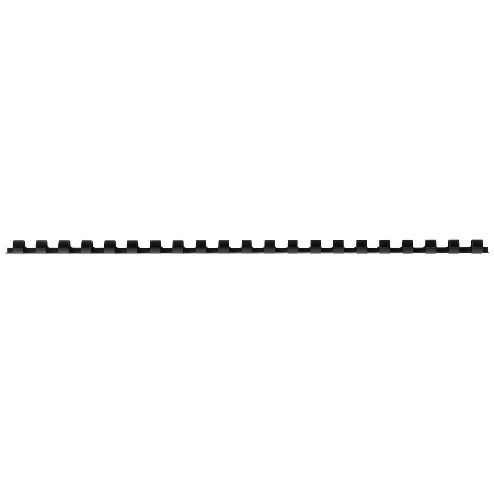Details about GBC Binding Comb 21 Loop Plastic 8mm Black 100 Pack.