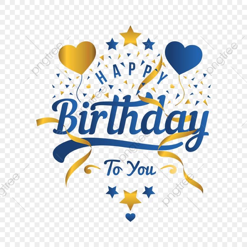 Happy Birthday Greeting Card And Illustration, Birthday.