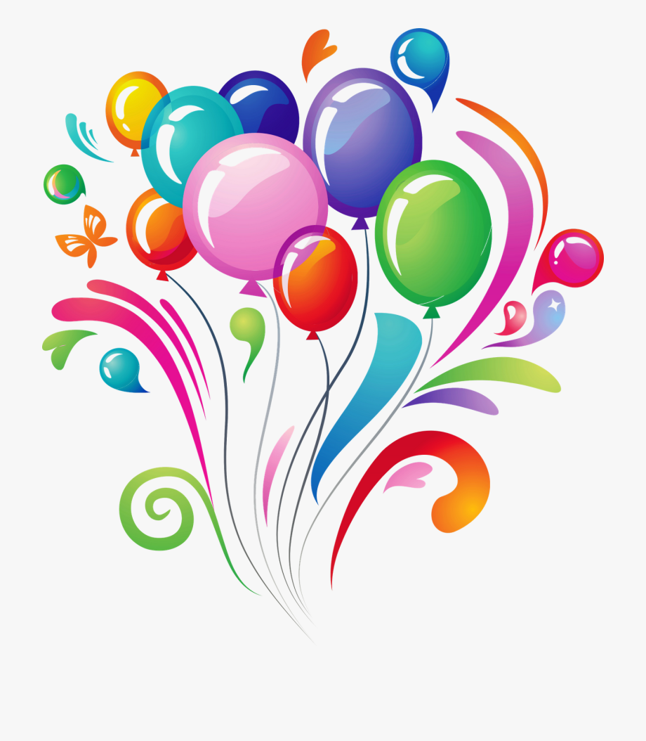 Happy Birthday Clipart Balloon.