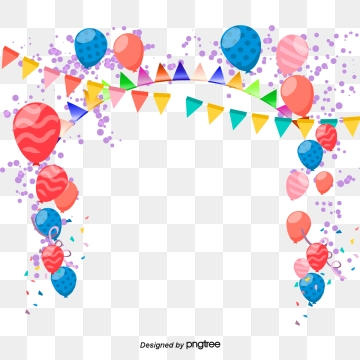 Birthday Balloons PNG Images, Download 316 Birthday Balloons.