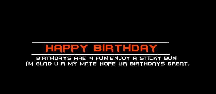 HANIYA ALI EDITING ZONE: Birthday Png Text.