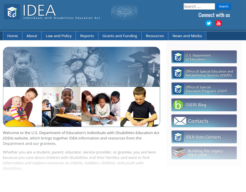 New IDEA Website.
