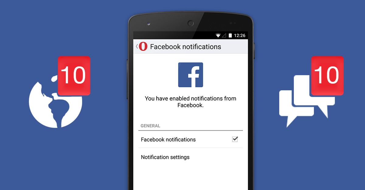 Get more control of social notifications.