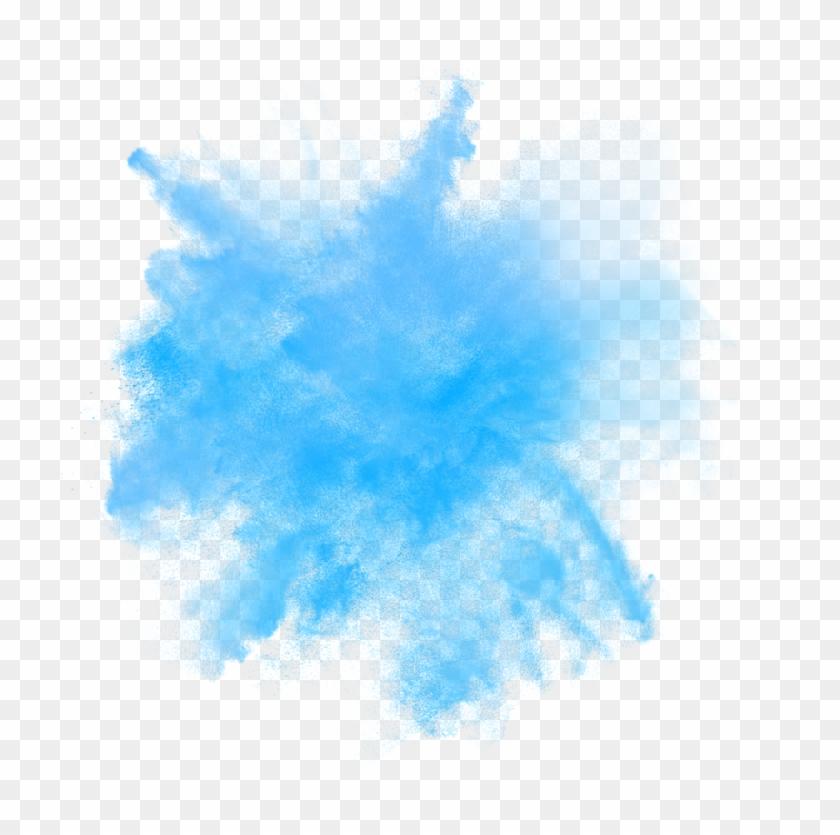Blue Smoke Effects.