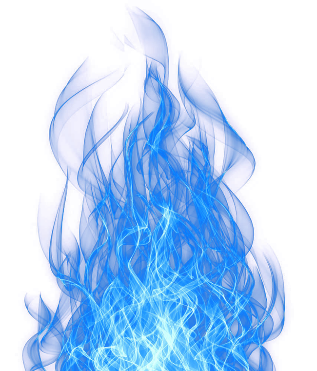Smoke Blue Effect PNG Image.