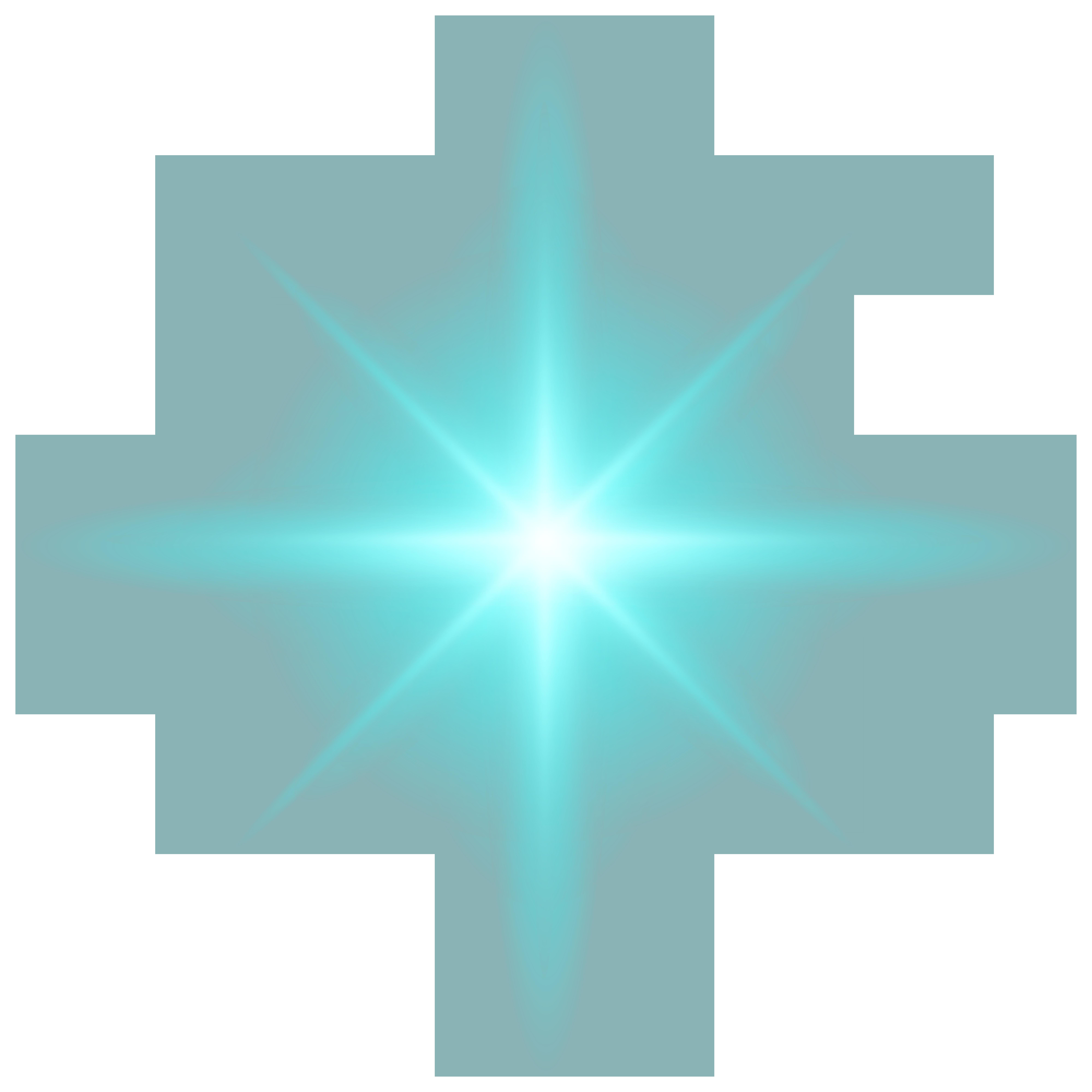 Light Effect Blue PNG Clip Art.