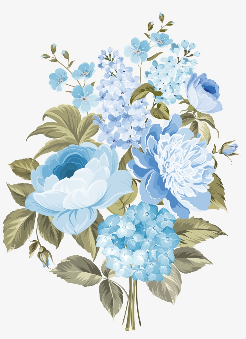 Flower Blue.