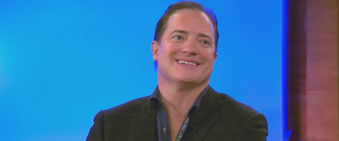 Brendan Fraser talking about The Mummy movies is both.