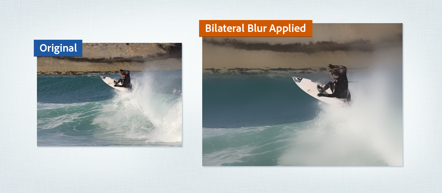 Apply Blur and Sharpen effects in After Effects.