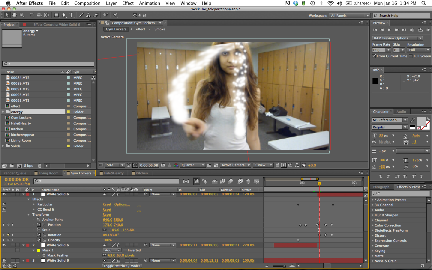 mask not working on layer : Adobe After Effects.