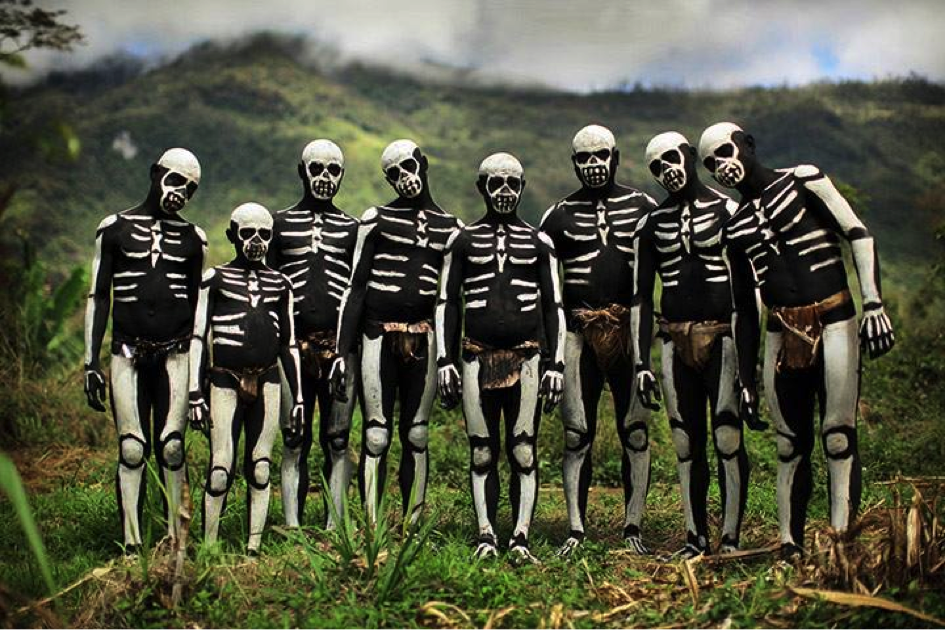 Tribal Body Art of Papua New Guinea.