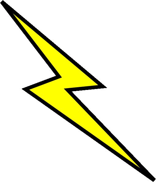 Yellow lightning bolt png #34126.