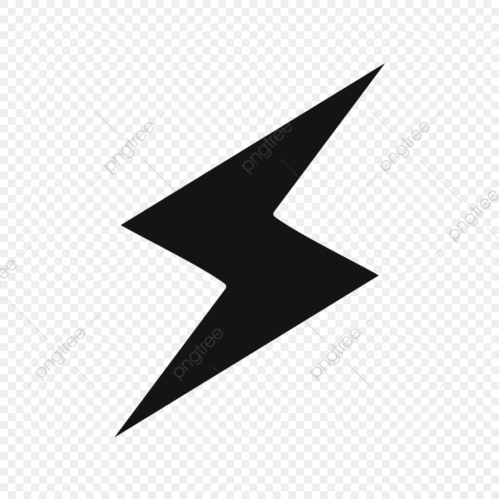 Vector Lightning Button Icon, Energy, Lightning, Bolt PNG.