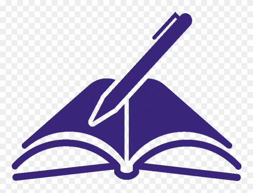 Pen Clipart Open Book.