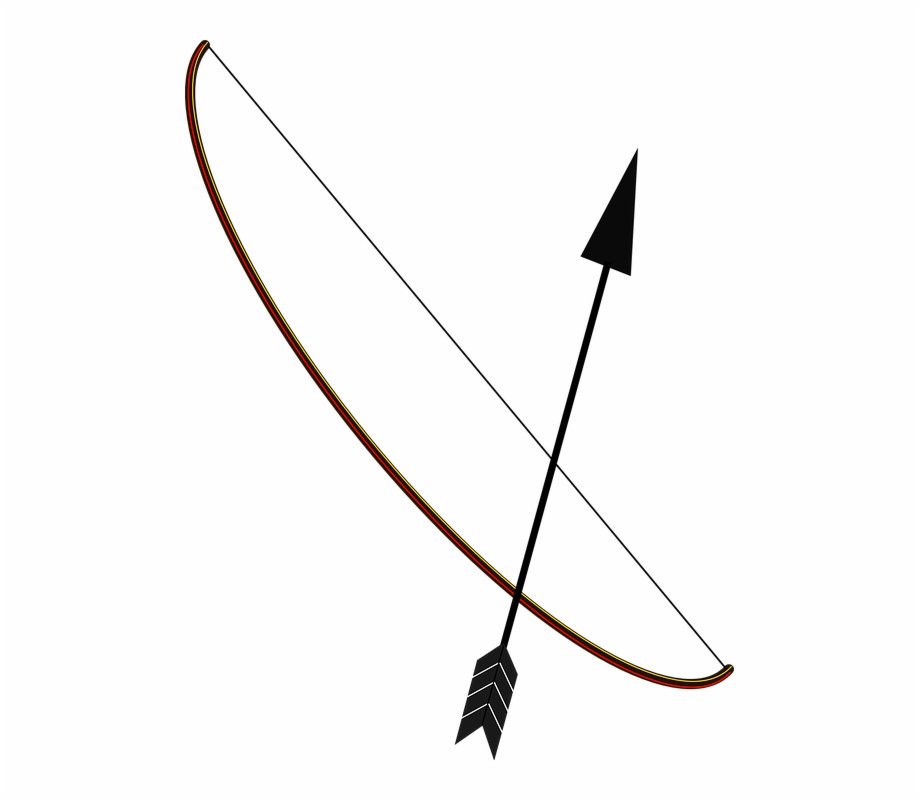 Aim Arrow Black Bow Shoot String.