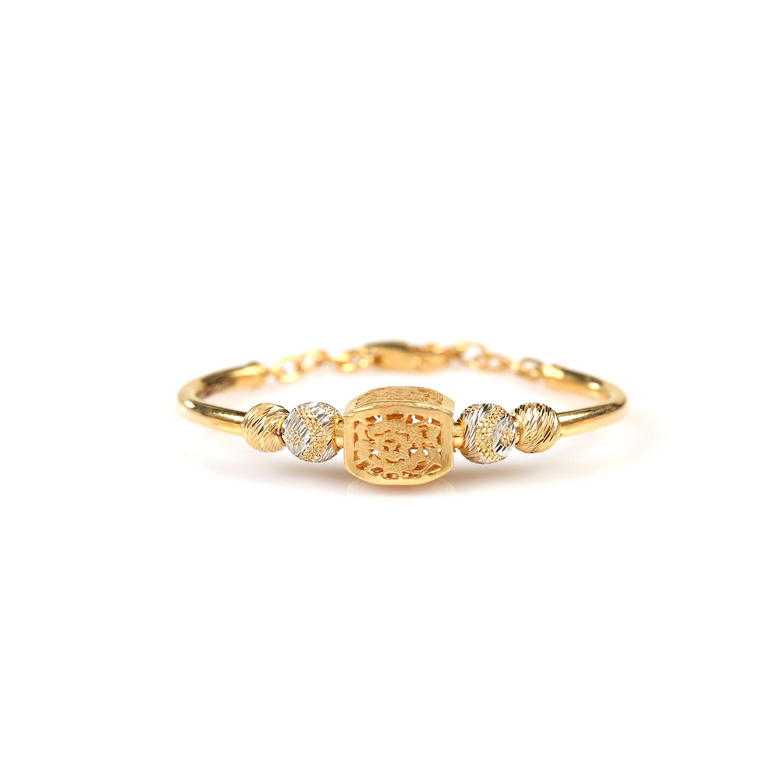 Stately Charm Gold Bracelet for Kids.