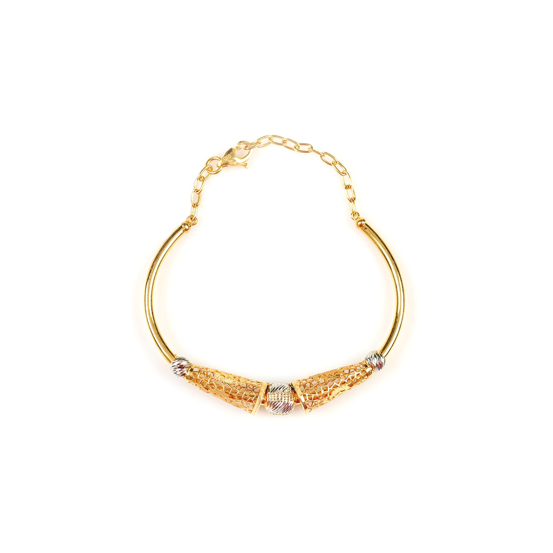 Royal Bead Gold Bracelet.