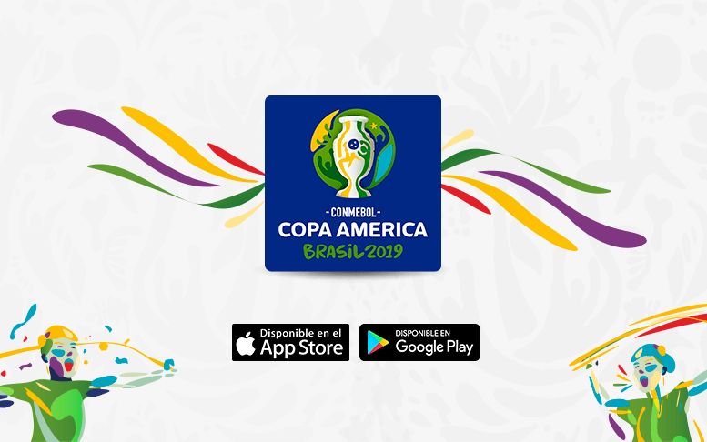 The CONMEBOL Copa América Brazil 2019 App is ready.
