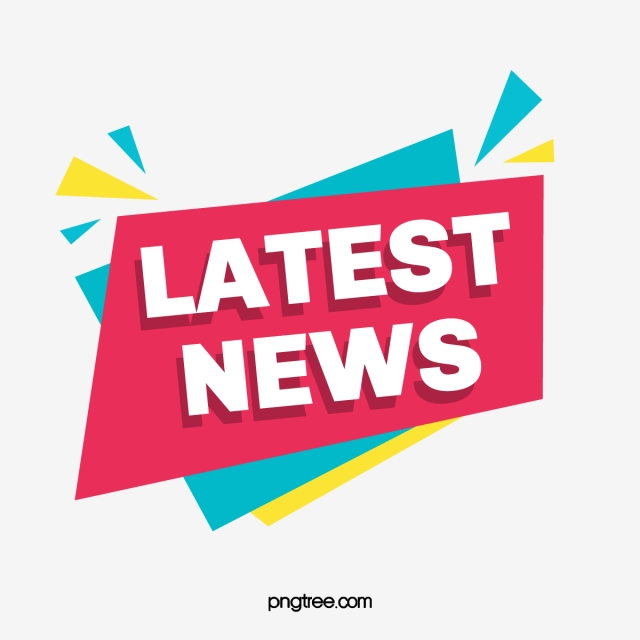 Vector Creative Latest News Tag, Banner, Breaking News.