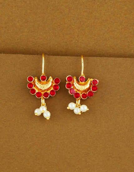 Bugadi Online: Buy Traditional Maharashtrian Bugadi Earrings.