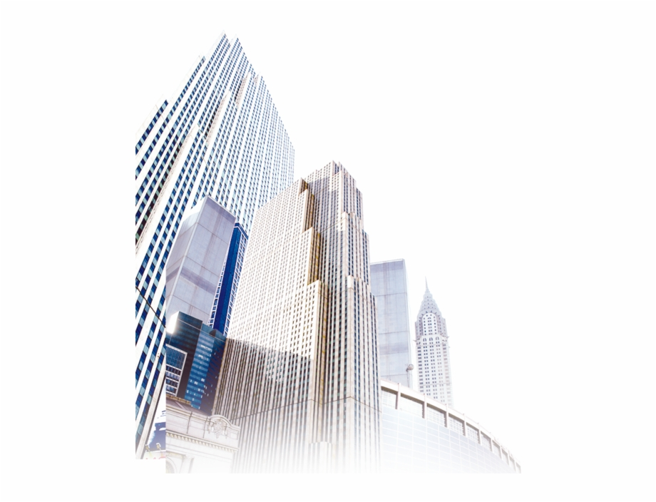 Corporate Buildings Transparent Background Png Image.