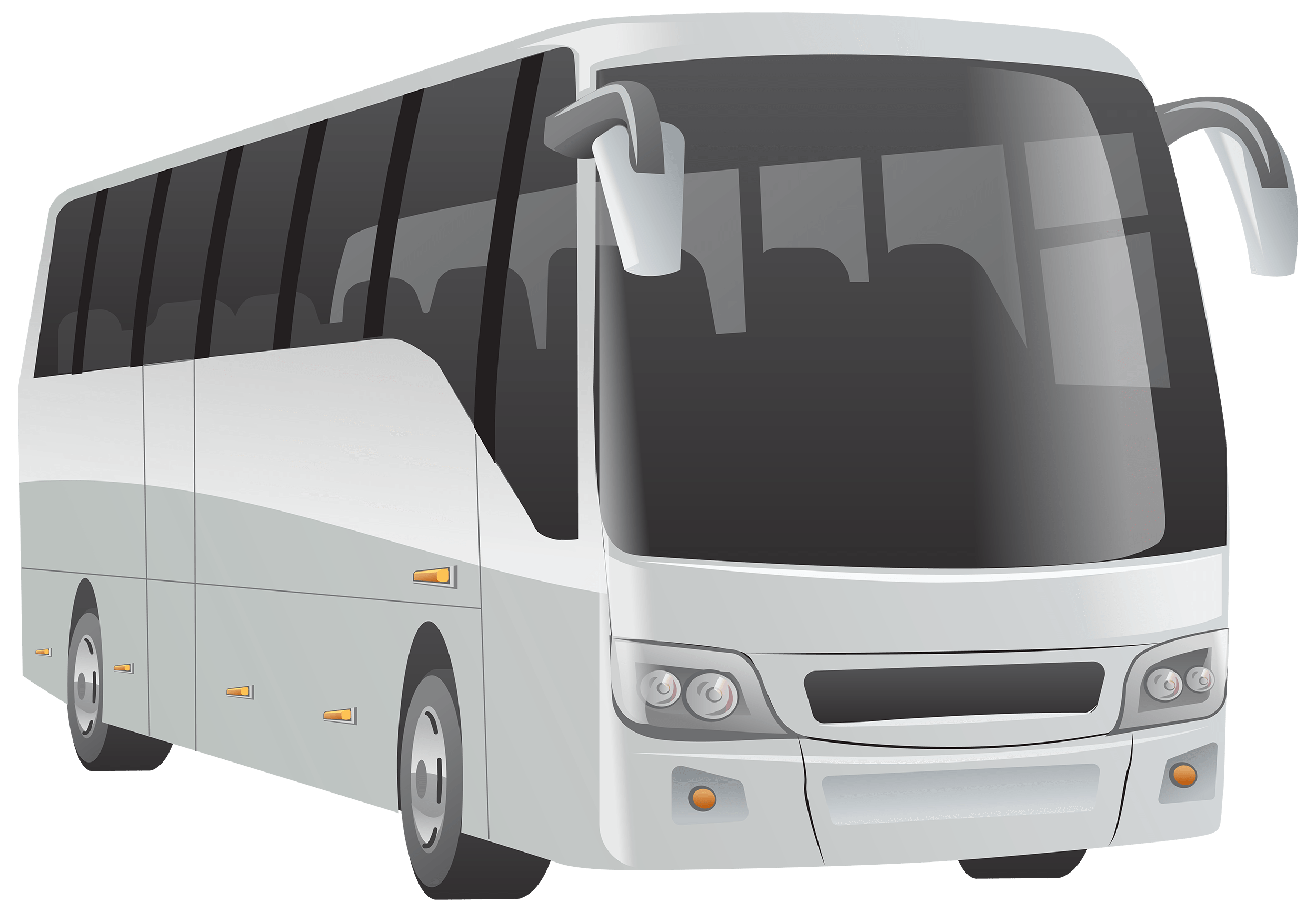 Bus Illustration transparent PNG.