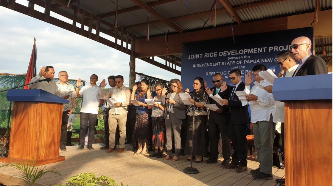 Filipino, Papua New Guinea Business Community Launch.